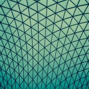 Polygonal Blue