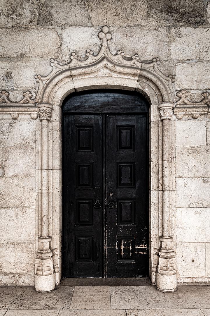 The second black door