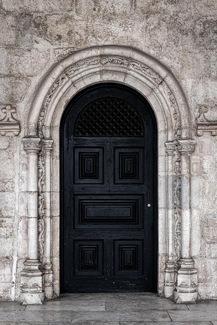 The third black door